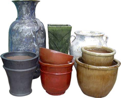 Outdoor Clay Pots Ceramic Pottery Indoor Outdoor Glaze Vases Garden Pots