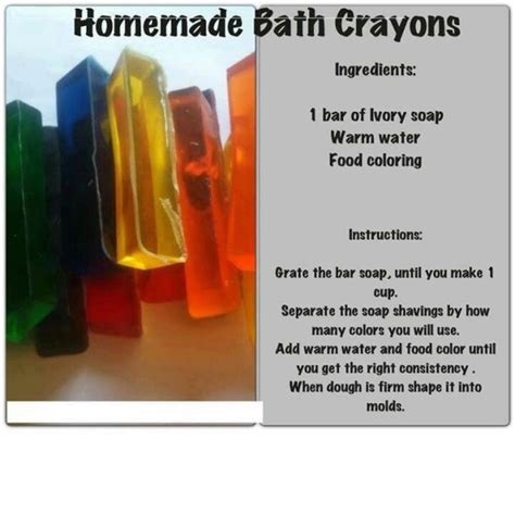 homemade bathtub crayons homemade bath crayons