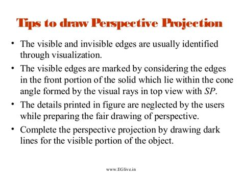 lesson  perspective projection