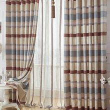 blue and tan striped curtains 25 best ideas about blue striped curtains on pinterest
