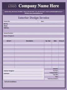 interior design invoice format 21 best schedule templates images on pinterest schedule