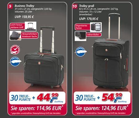 badezimmer in einer tasche treueaktion bei real wenger taschen und koffer dreibeinblog