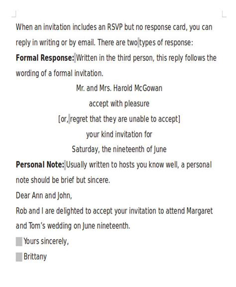 formal letter for marriage invitation 16 formal invitation letters sle templates