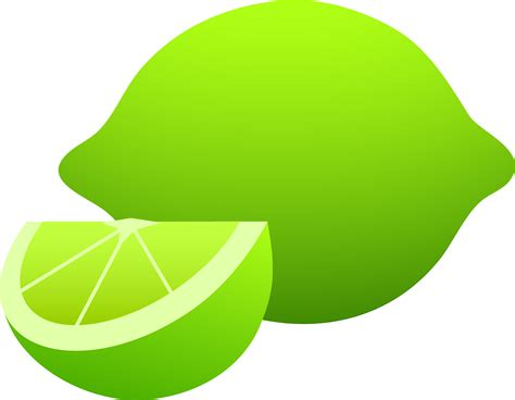 lime slice silhouette image gallery lime fruit clip art