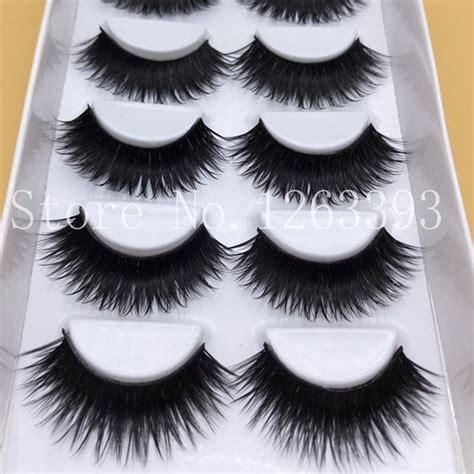 Galenco Eyelash Curlier Pelentik Bulu Mata saleing false eyelashes 1 box 6 pairs thick black false eyelashes makeup tips smoky