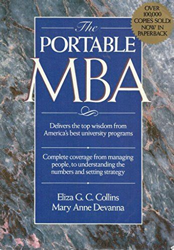 Edes Portable Mba Pdf by Taernsby K109 Ebook Pdf Ebook The Portable Mba