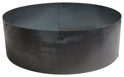 large pit ring solid ring 30 30 quot modern pits by p d