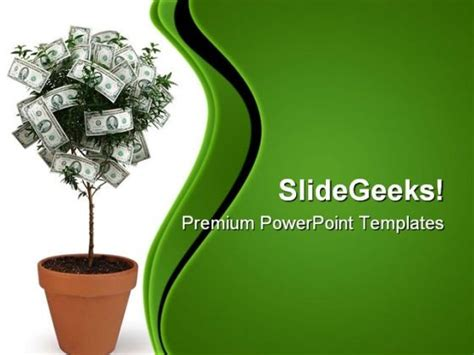 theme ppt money money plant future powerpoint templates and powerpoint