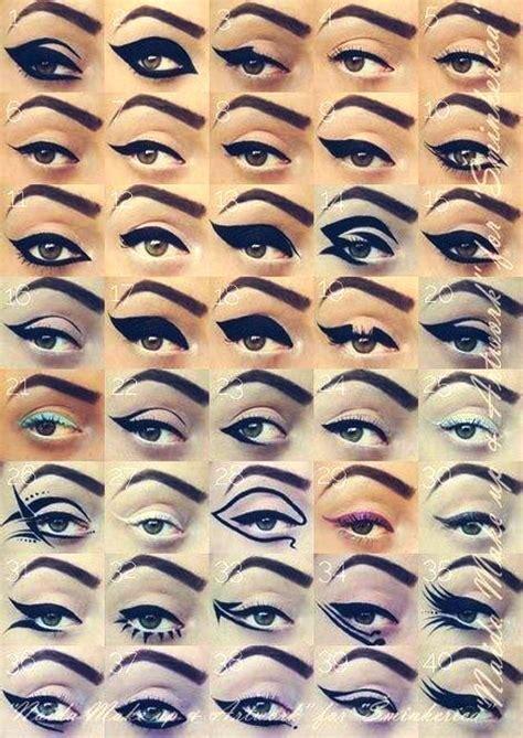 eye on design 25 best black perfect eye liner styles designs looks