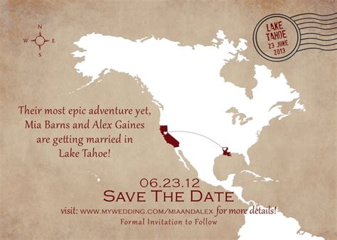save the date for destination wedding destination wedding save the date cards digital file