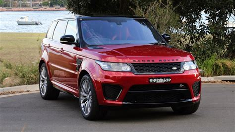 land rover discovery sport 2017 red this week i m driving the range rover sport svr chasing