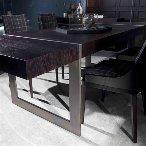 Italian Dining Tables Modern Large High End Modern Italian Designer Dining Table Juliettes Interiors