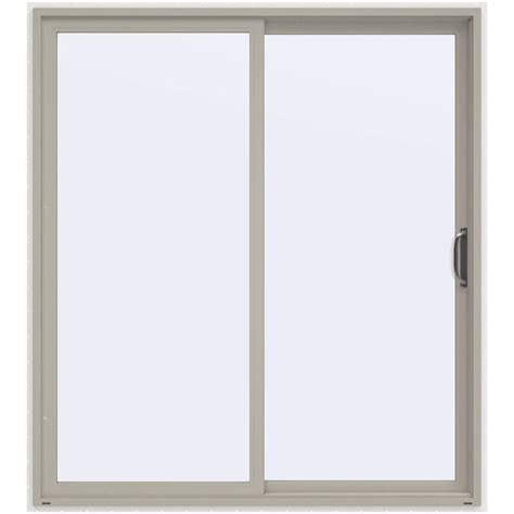 Jeld Wen 72 In X 80 In V 2500 Series Sliding Vinyl Patio Vinyl Patio Doors