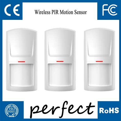 Wireless Motion Sensor 433 Mhz Dual Pir Detector Wall Mounted Alarm buy k1 wireless 433mhz pir detector motion sensor related home alarm security system ir at