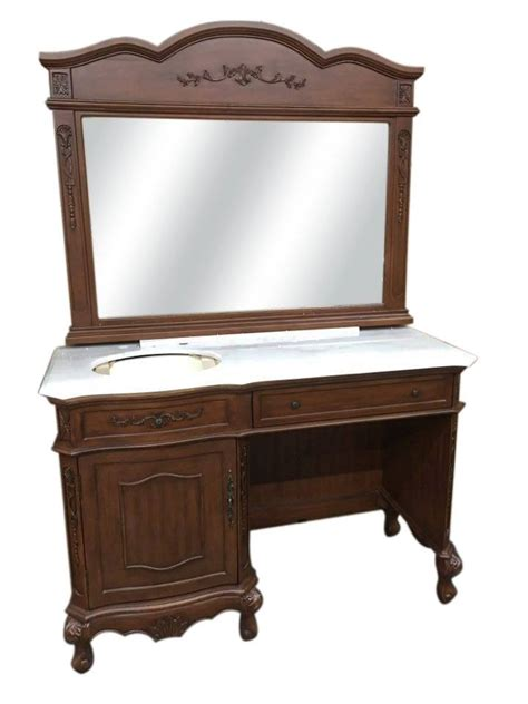 L For Makeup Vanity by Vanity Table L 47 Quot L Vanity Makeup Dressing Table Desk Make Up Lift Top Mirror 2 Drawers