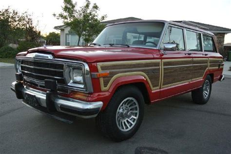 1987 Jeep Grand Wagoneer Mpg Mileage 180 700