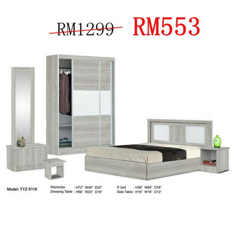 set bilik tidur murah johor bahru desainrumahidcom