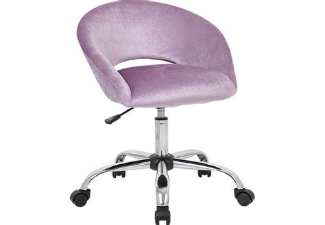 Healy Purple Desk Chair Desk Chairs Red Colors Purple Desk Chair