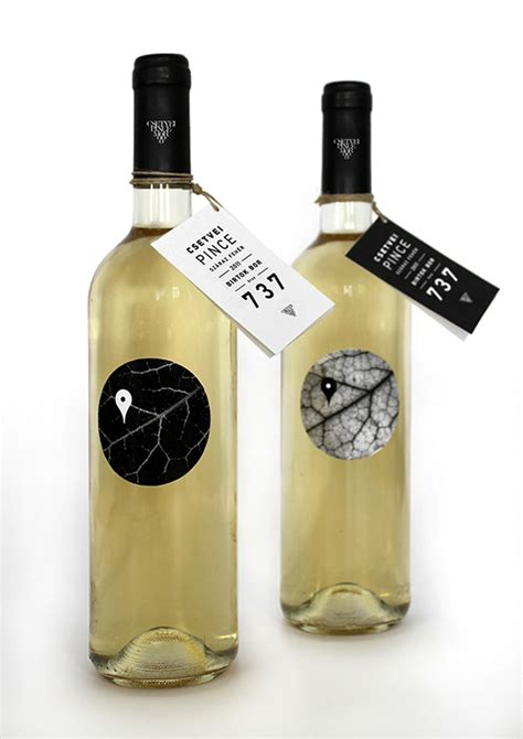 label design behance csetvei wine label on behance