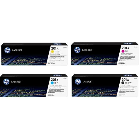 Promo Hp 201a Black Original Laserjet Toner Cartridge Cf400a new original hp 201a set cf 400a 401a 402a 403a laserjet