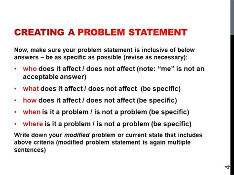 how to make a problem statement in a research paper problem statement of a project invent media