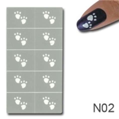 Muster Für Nägel by Nagellack Schablonen Nail Motive F 195 188 R Geln 195 164 Gel