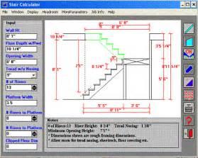 stair design calculator framerscalc stair calculator