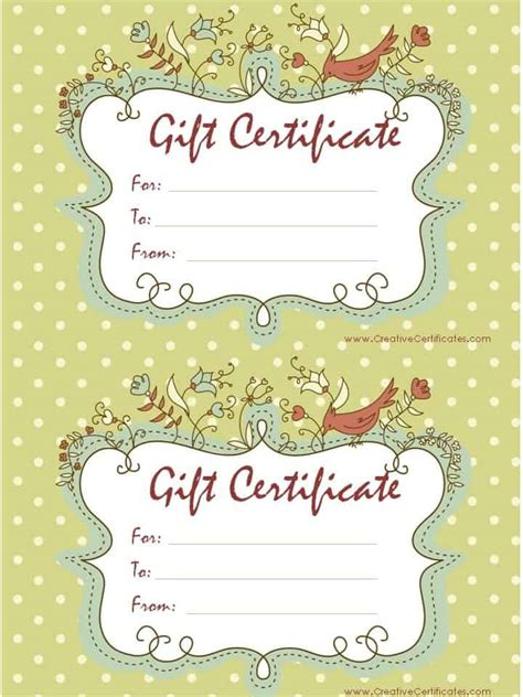 what you want gift card template free gift certificate template customizable