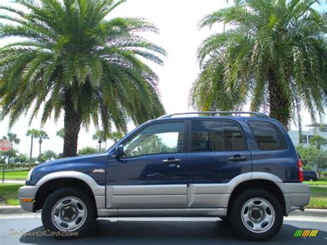 Suzuki Grand Vitara 4x4 2002 Suzuki Grand Vitara Jlx 4x4 In Catseye Blue Metallic