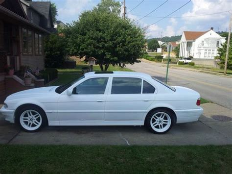 how cars run 1997 bmw 7 series seat position control sell used 1997 bmw 740il base sedan 4 door 4 4l snow white in weirton west virginia united