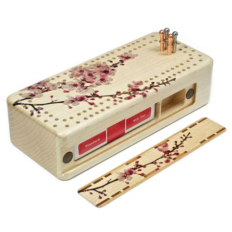 Crib Boards by Cherry Blossom Cribbage Board