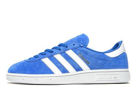Adidas Munchen Blue Original lyst adidas originals munchen in blue