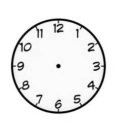 free printable clock coloring pages for
