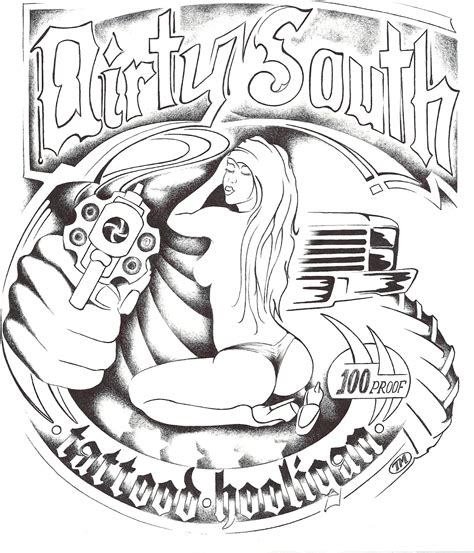 dirty tattoo designs judicious jailbird south contest