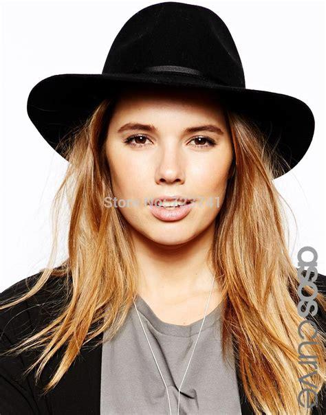 popular s black fedora hat buy cheap s black