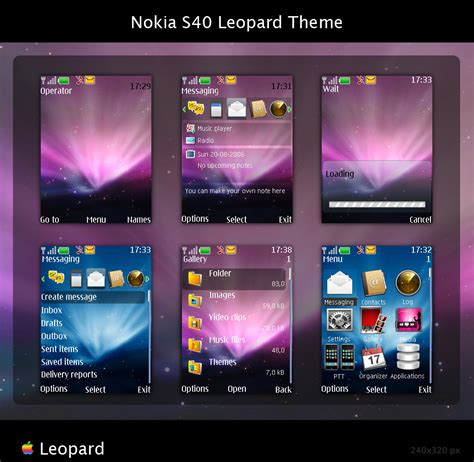 nokia 2690 s40 themes nokia s40 leopard theme by skipproject on deviantart
