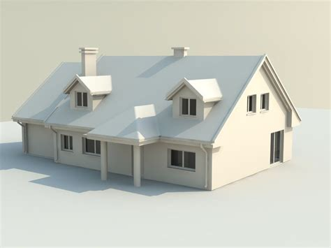 3d printed houses house 3d model 3d printable stl cgtrader com
