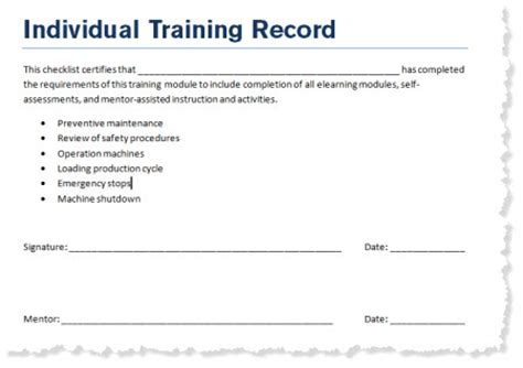 coaching record template how to create a learning journal to go with your e