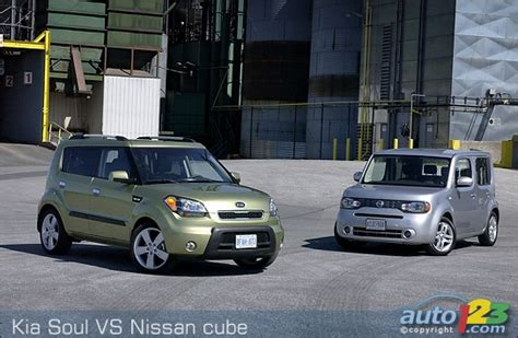Kia Soul Vs Nissan Cube List Of Car And Truck Pictures And Auto123