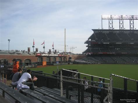 san francisco sections at t park section 142 san francisco giants