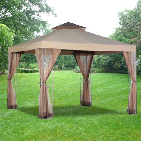 replacement canopy for eight panel gazebo garden winds canada