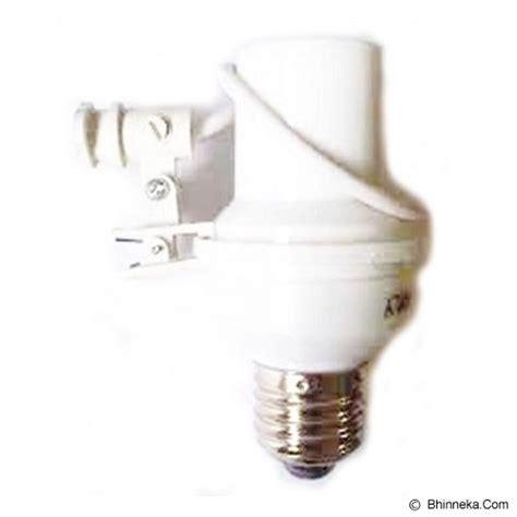 Lu Otomatis Sensor Cahaya jual uniqtro fitting lu otomatis sensor cahaya murah