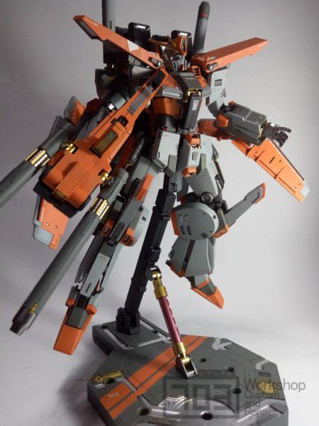 Mg Gundam X By Gundam Workshop master grade zz gundam ver ka quot xantha quot by 703 workshop