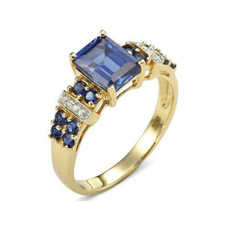 Kotak Cincin Fashion Wanita cincin wanita model blue sapphire kotak ring size 6 usa