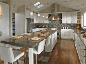 kitchen island with and dining areag cooking islands for kitchens design photos