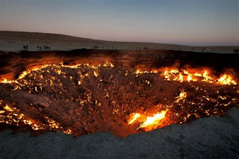 turkmenistan crater has burned for more than 40 years ny