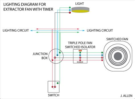 bathroom fan wiring way switch wiring diagram on 2 pole light get free image