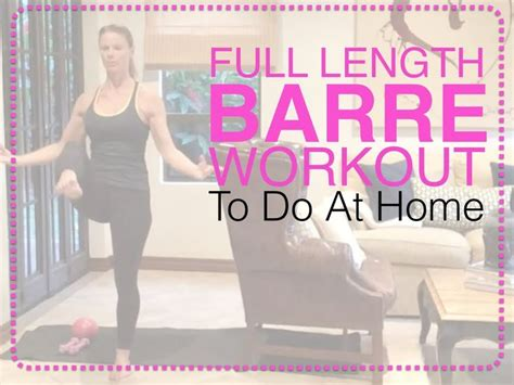 17 best images about a barre workout on leg