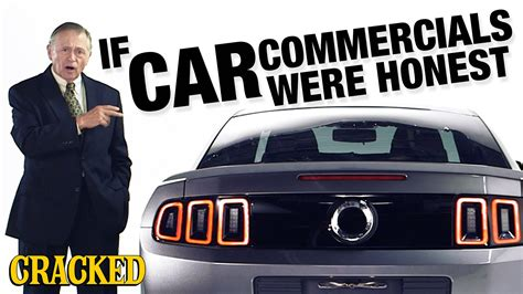 Car Commercials by If Car Commercials Were Honest Honest Ads Bmw Ford