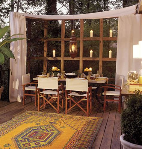 how to make an outdoor room outdoor spaces 10 ideas for creating privacy
